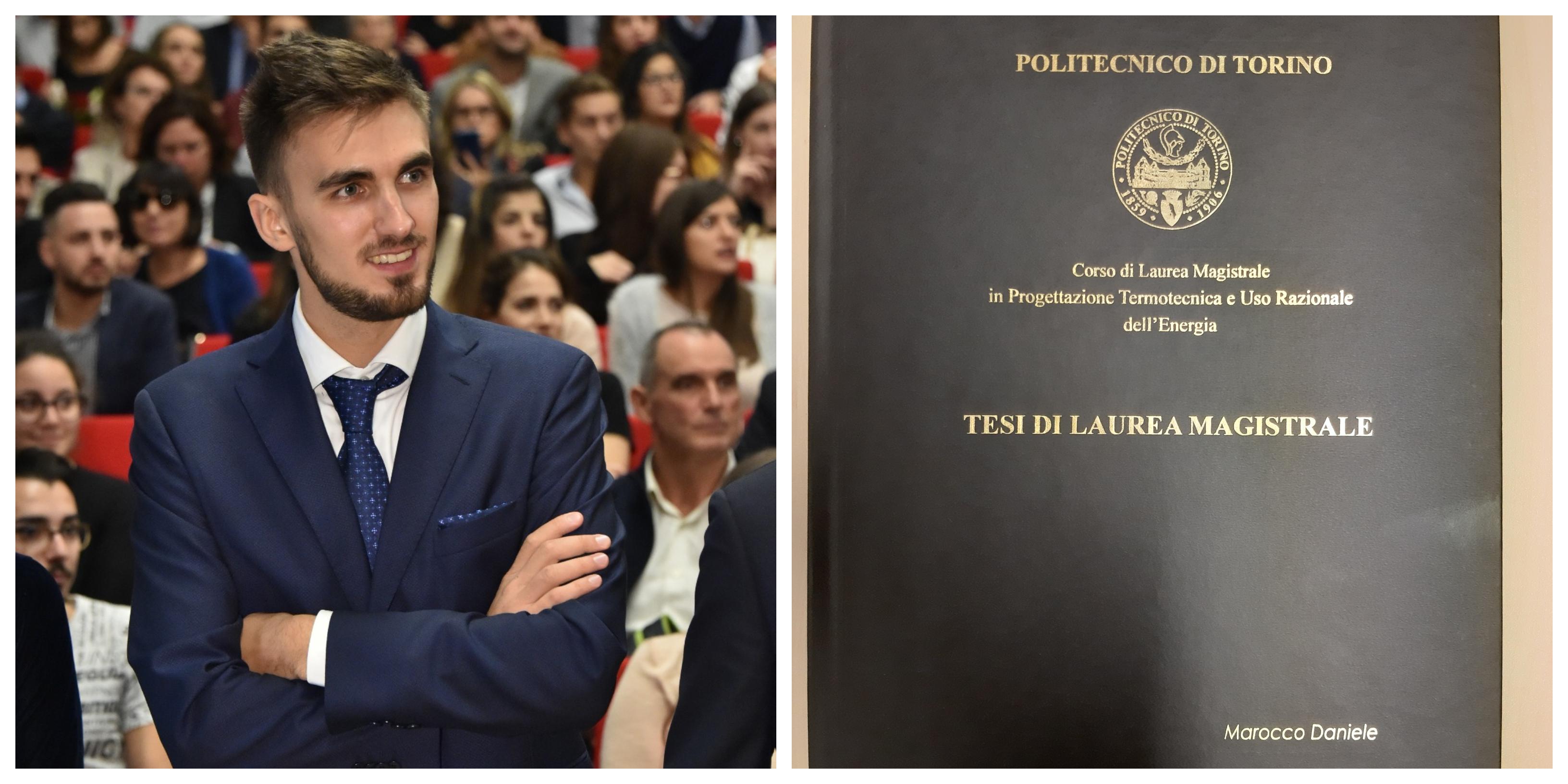 Laurea di Daniele Marocco